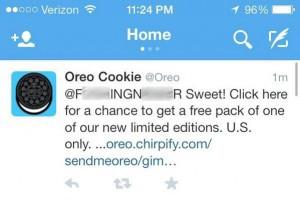 Oreo Cookie Bad Twitter Response