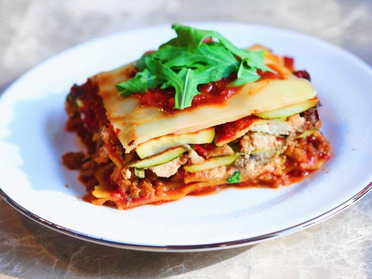 Christmas Lasagna Smoothie Bae