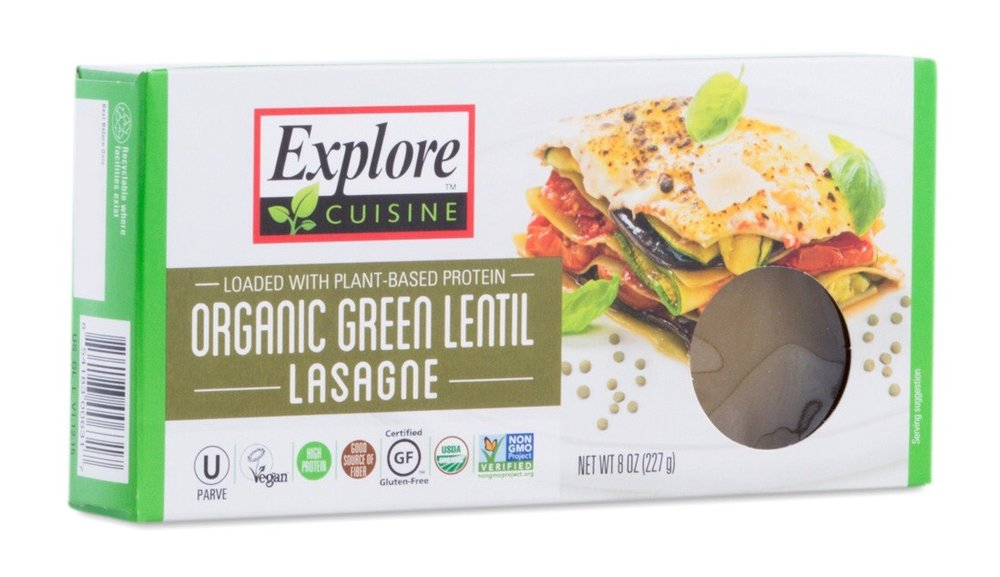 Green Lentil Lasagna by Thrive Market