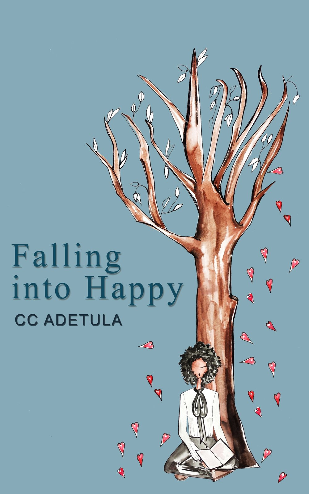 Falling Into Happy by CC Adetula - February 2017