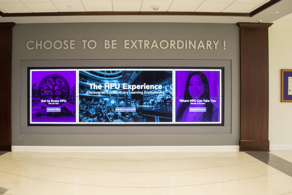 High Point University  Choose to be Extraordinary    View Project