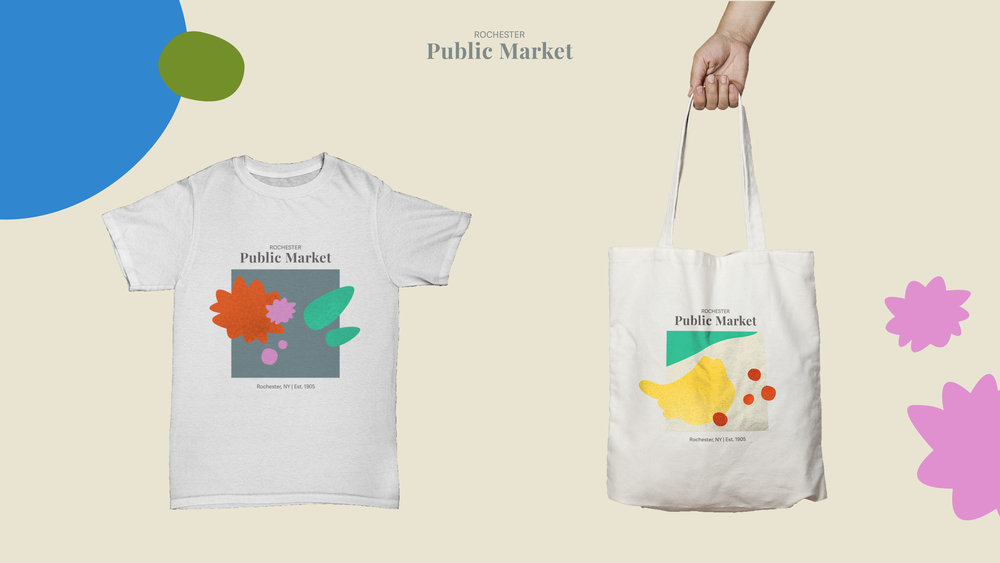 T-SHIRT AND CANVAS TOTE