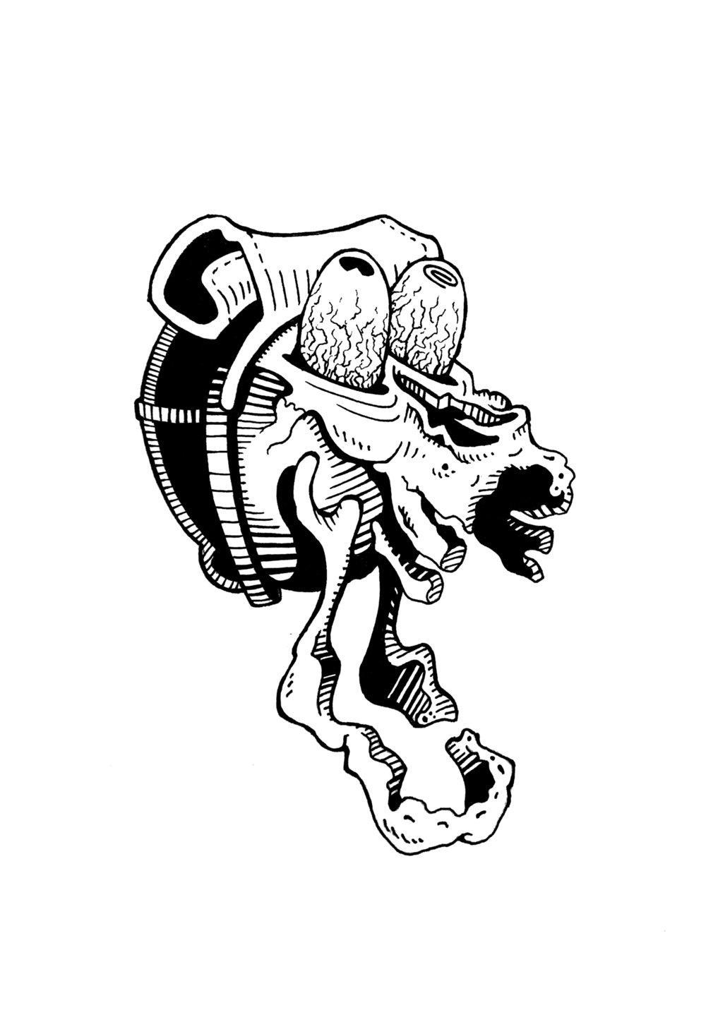 Screamer Skull