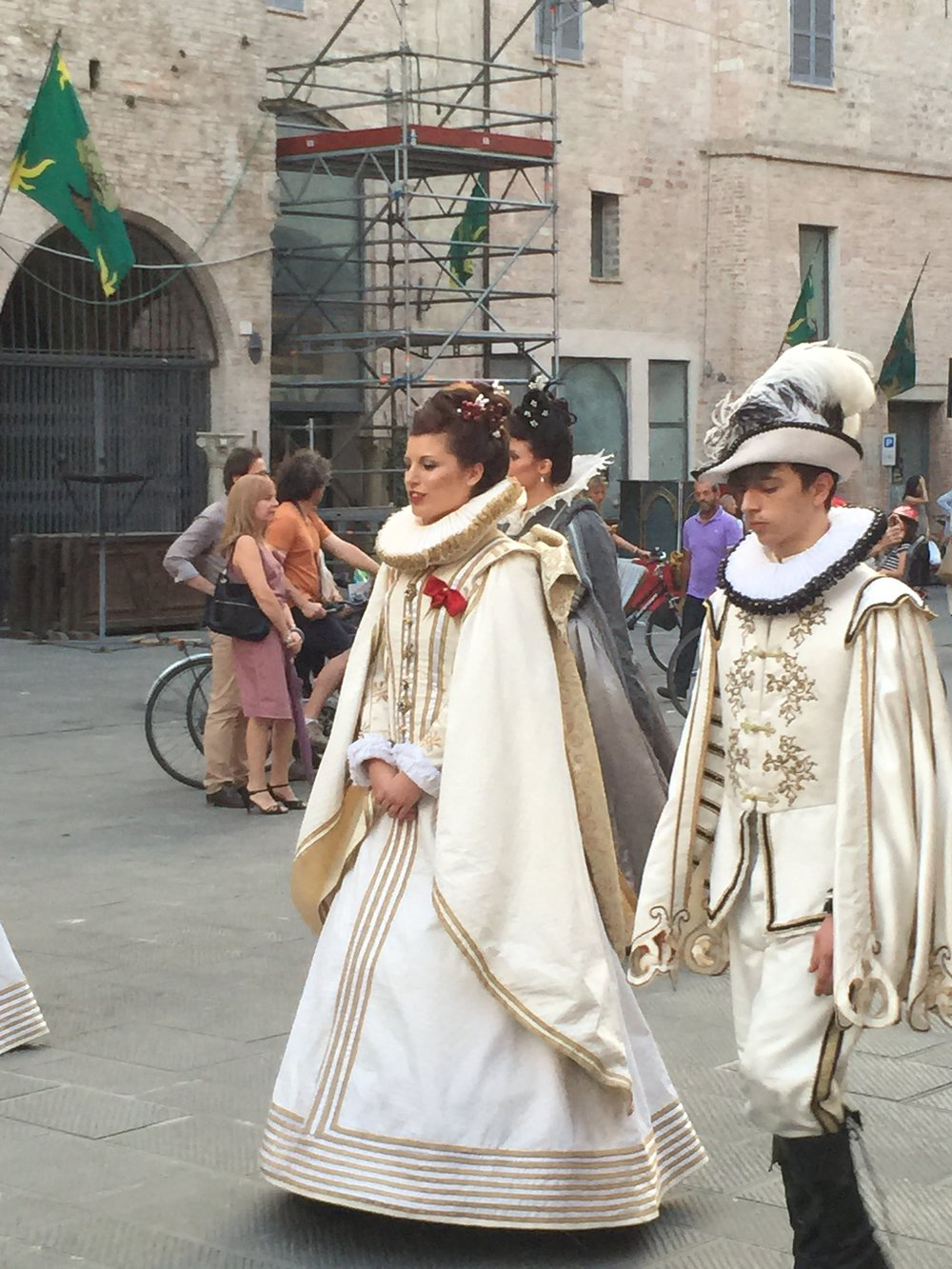 Costumes for the Giostra della Quintana in Foligno!
