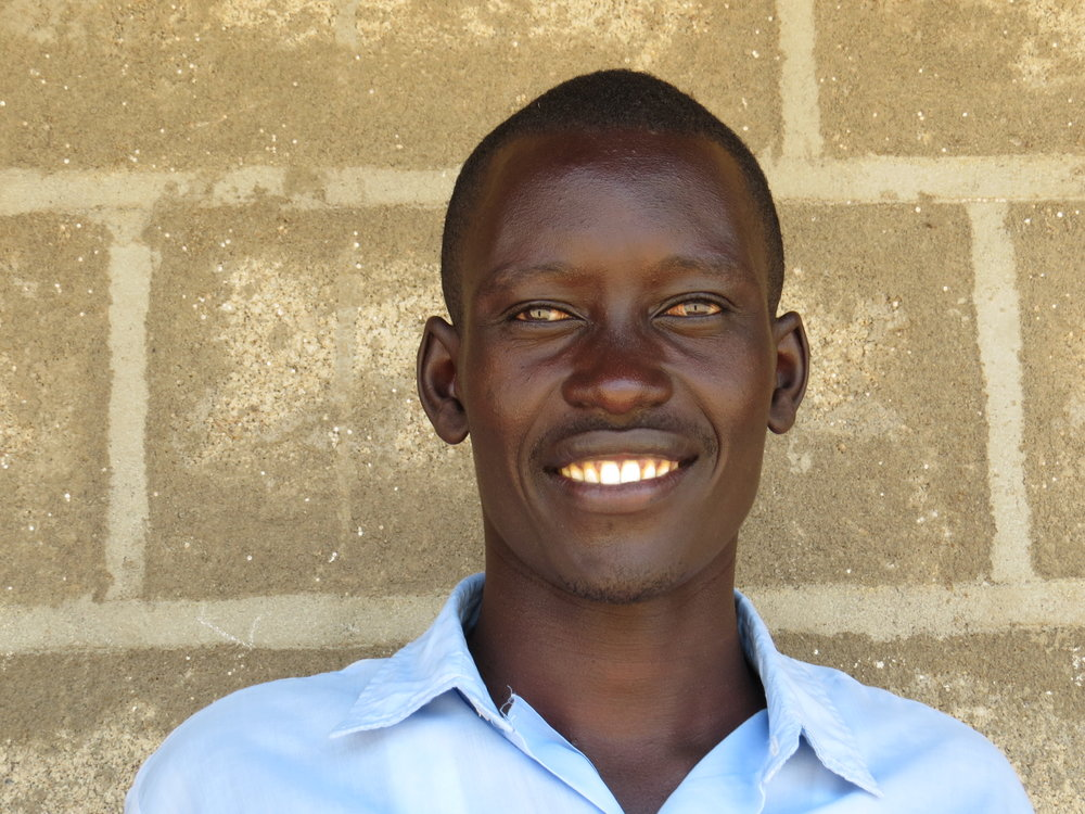 Alvin Pariyo   Secondary School Scholarship recipient from Lake Baringo