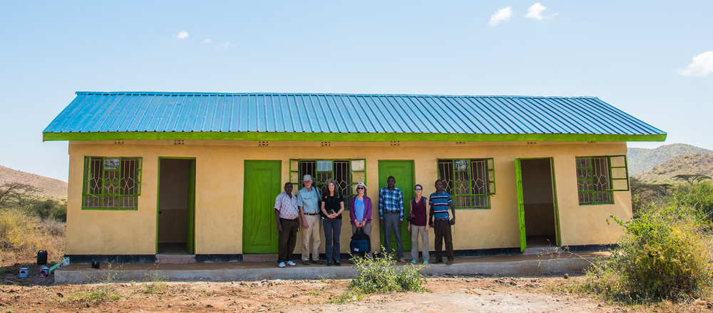 The medical dispensary at Kachiuru completed January 2017