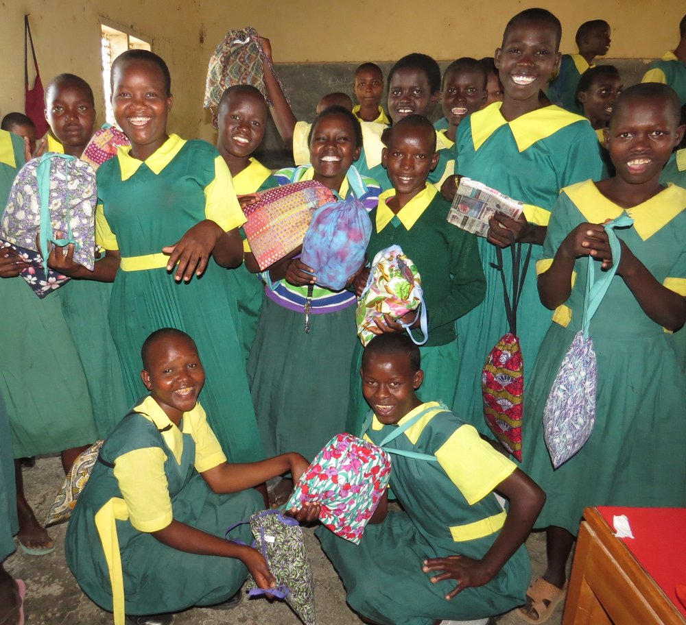 Days for Girls hygiene kits