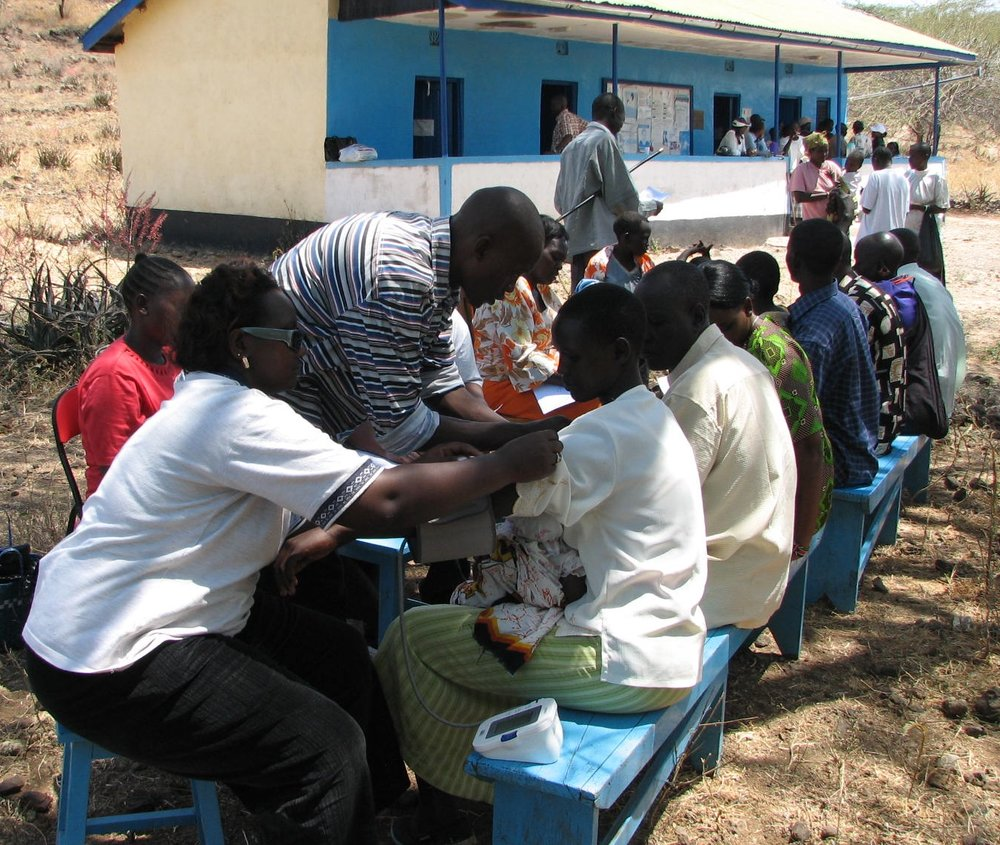 Medical camp at Kokwa Island