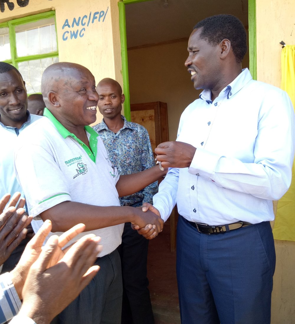 Samuel Muhunyu and Meru County Governor Mheshimiwa Munya