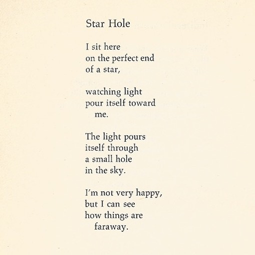 Richard Brautigan, Star Hole