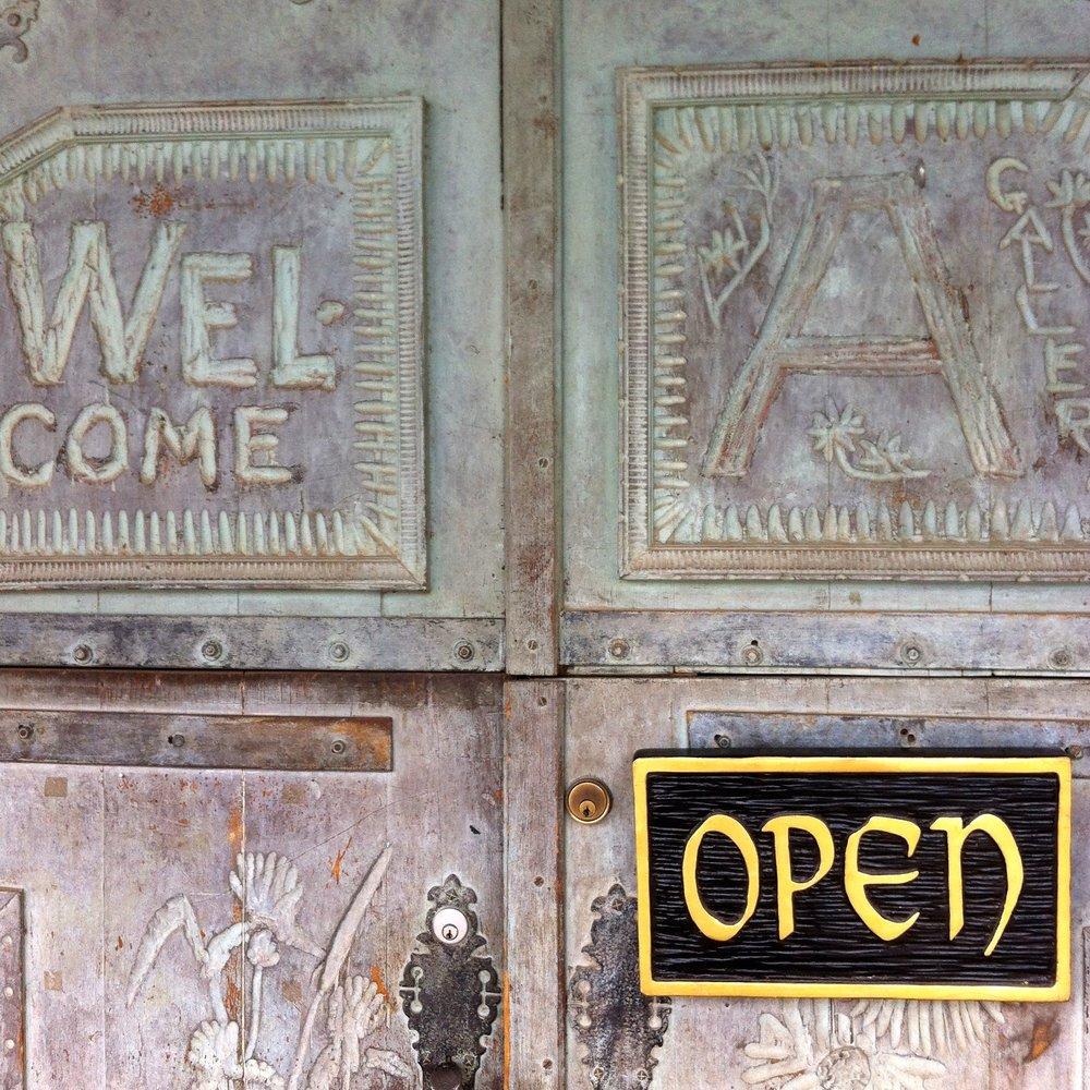 Door, Taos, New Mexico