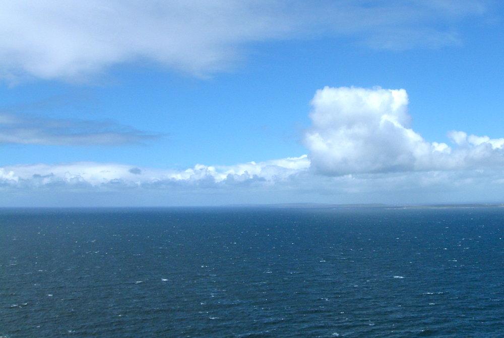 Square Cloud, coastal Ireland