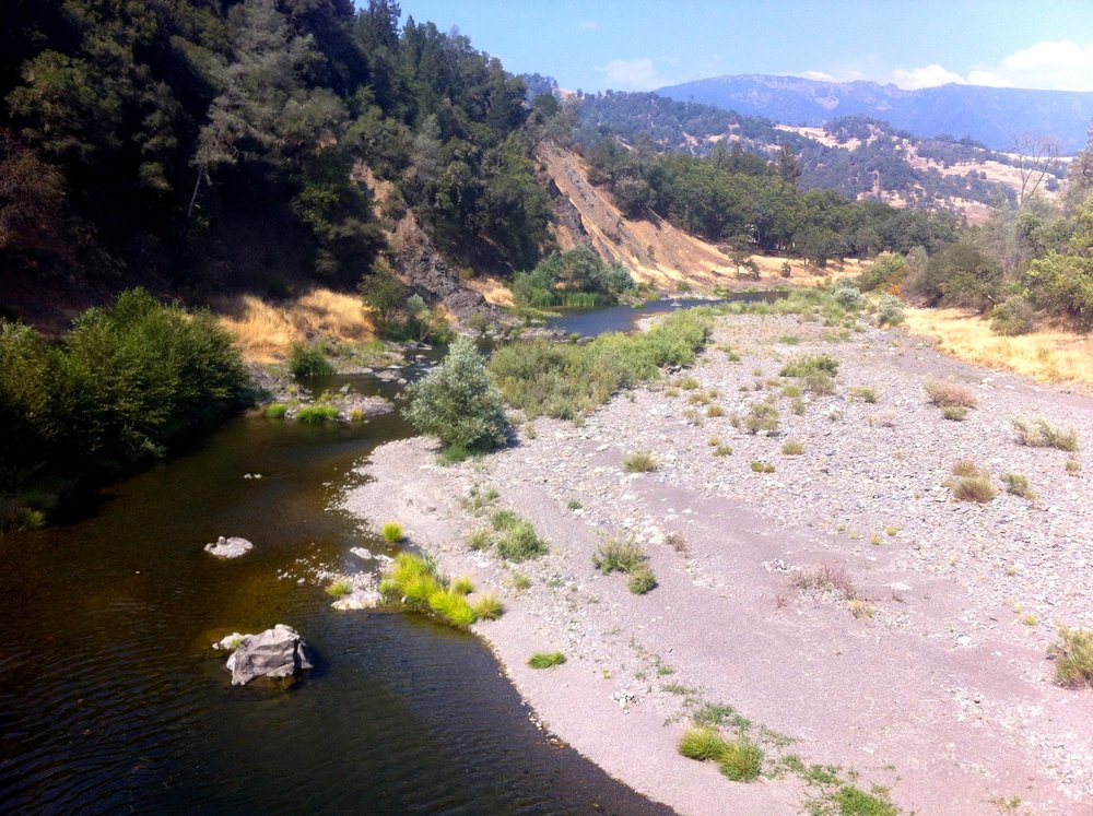 Eel River, Mendocino Co., California