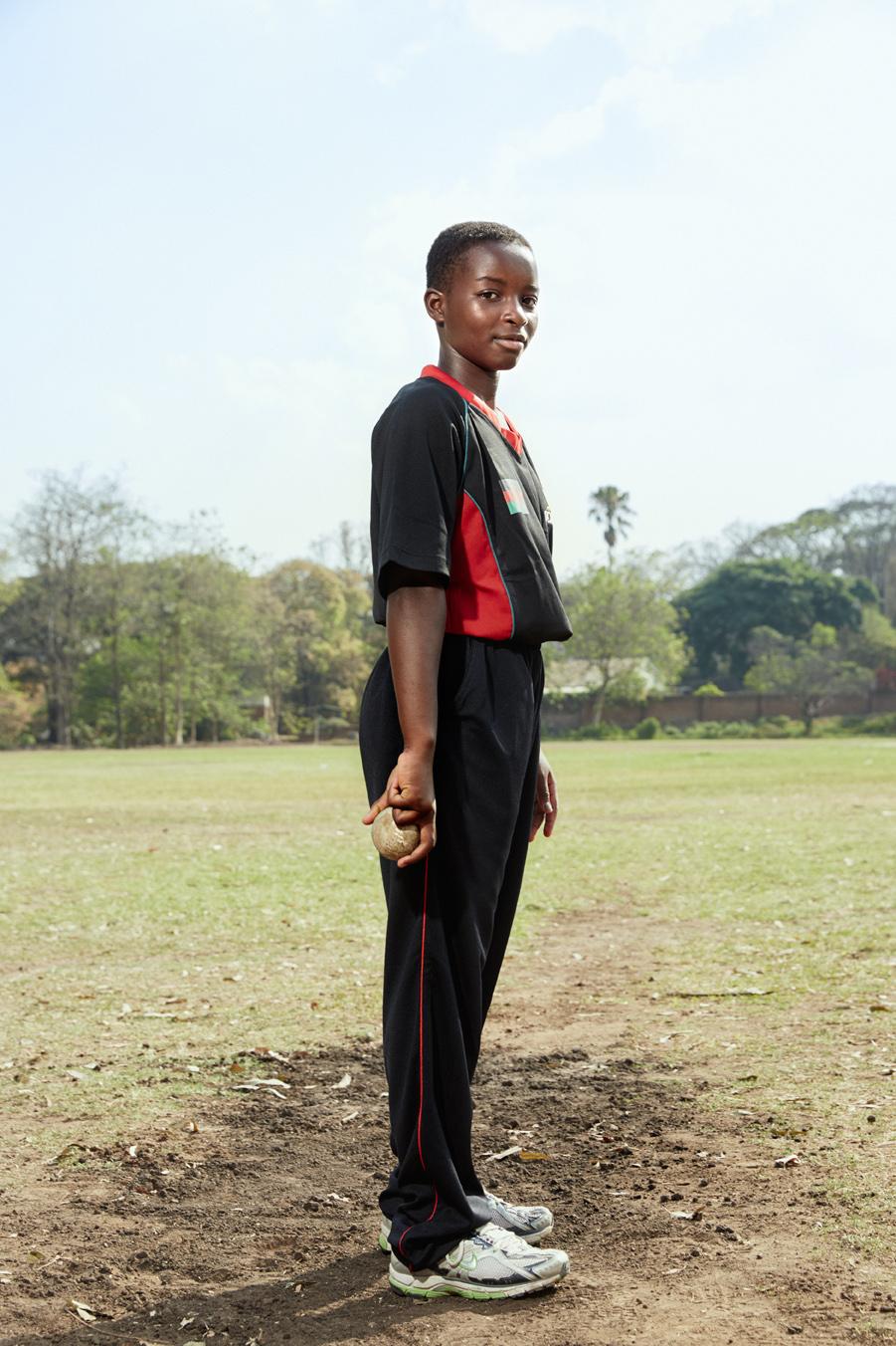 Vanessa Phiri, bowler