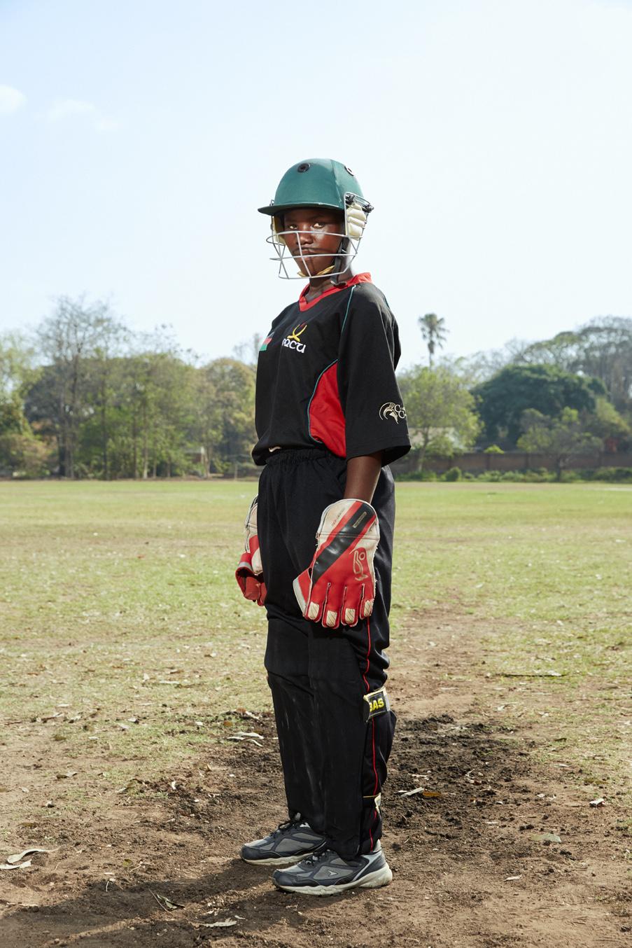 Marya Dailesi, wicket keeper / batsman