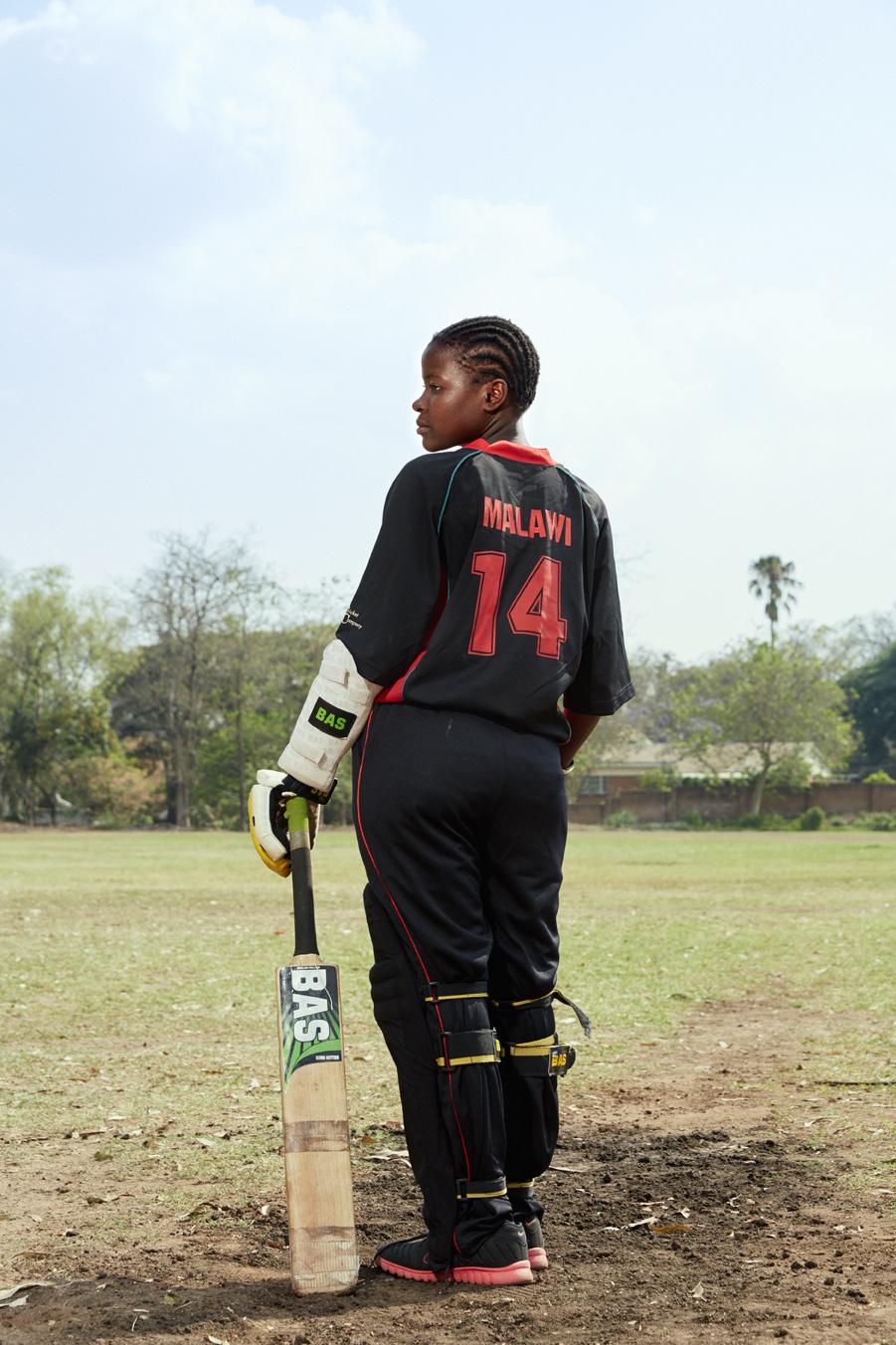 Daina Rice, batsman
