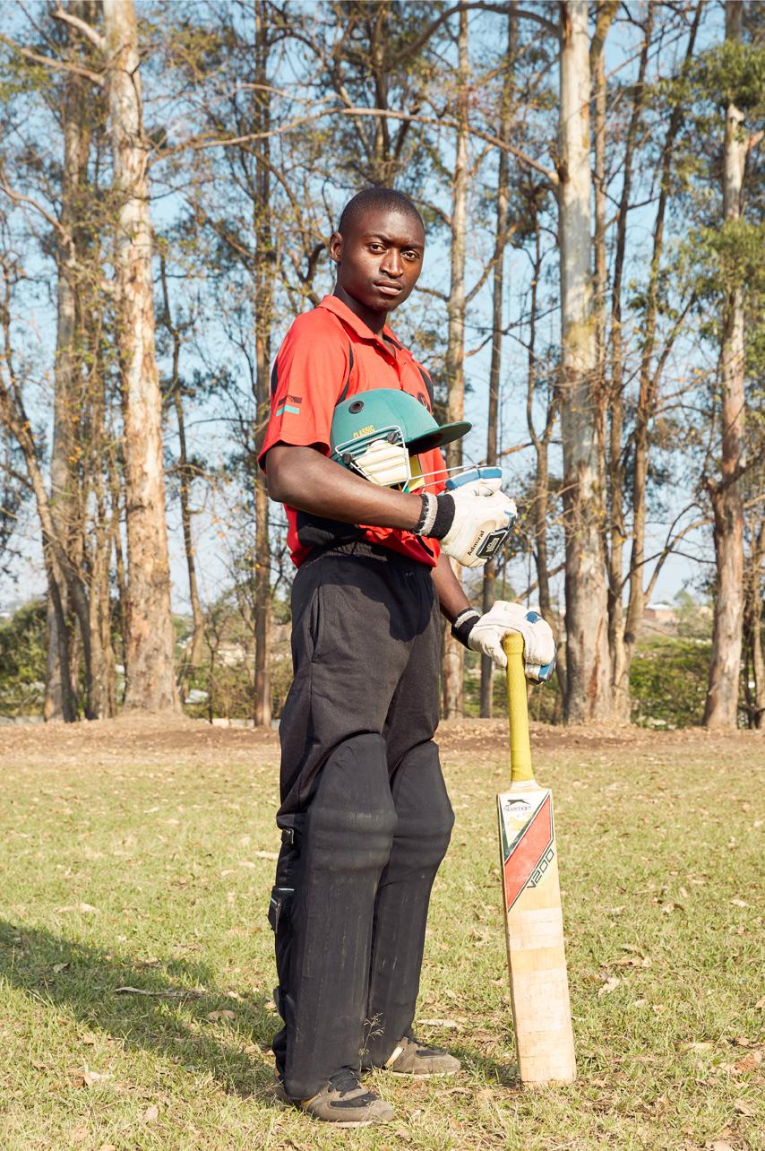 Osman Mangho, batsman