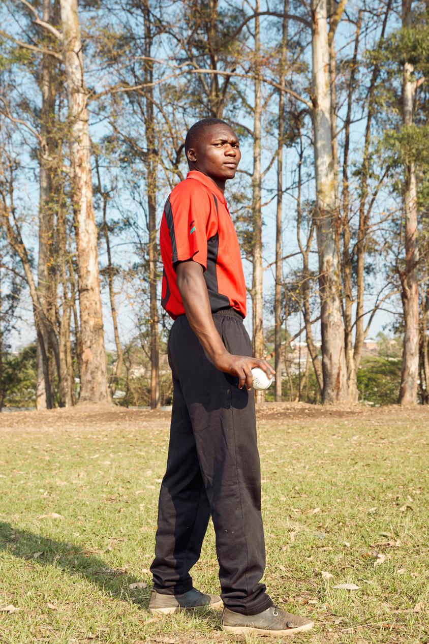 Gift Phiri, bowler