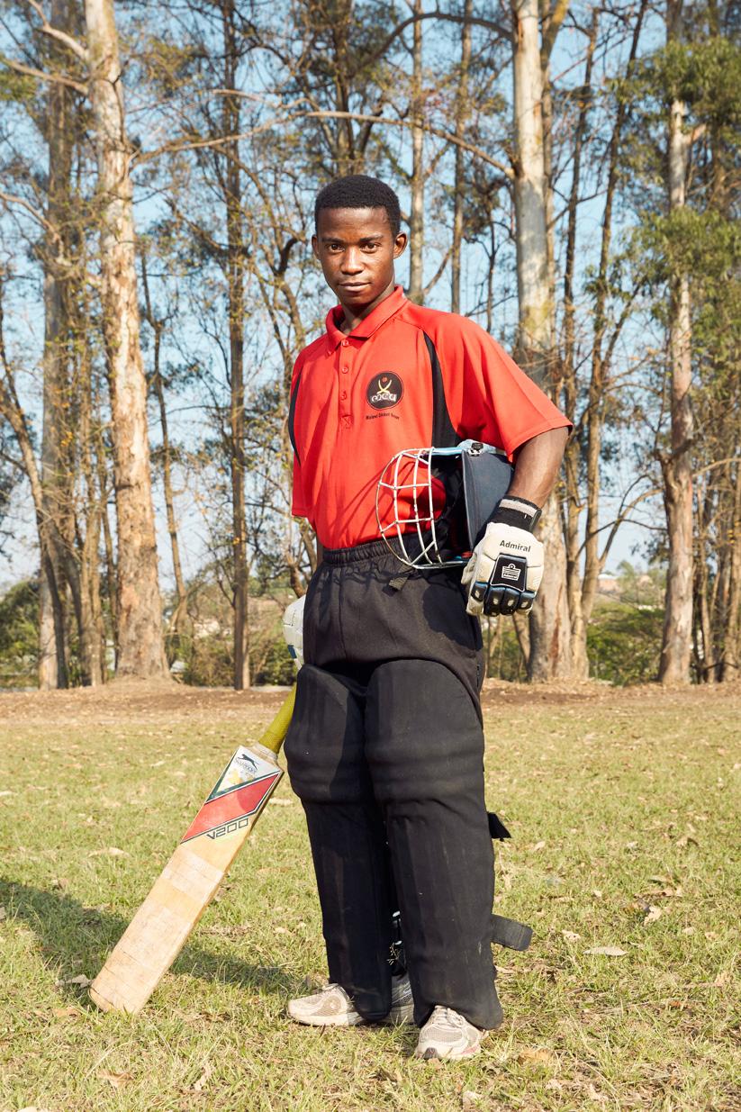 Francis Nkhoma, batsman