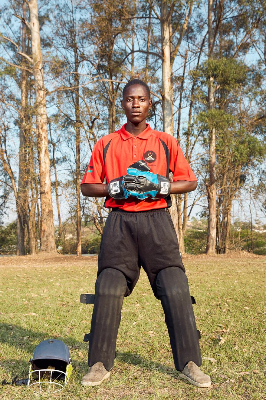 Anaph Kayenda, wicket keeper