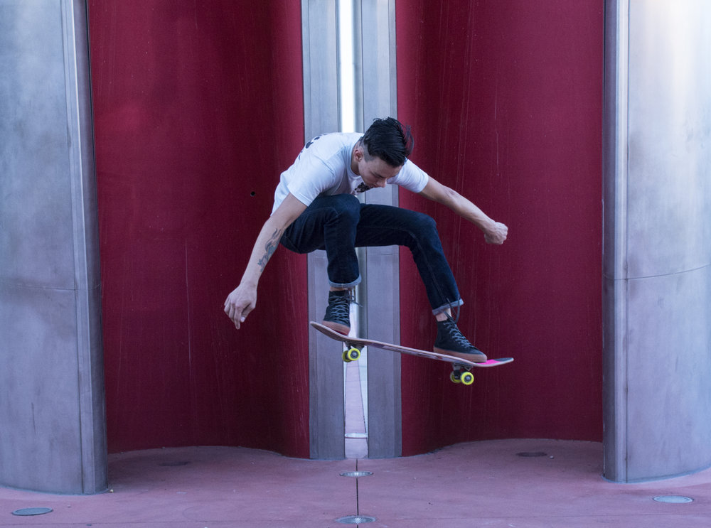 Jeff Sanders Skateboarding Scottsdale Arizona