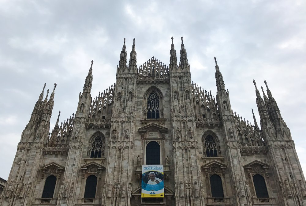 The Duomo — fifth largest Christian church in the world.