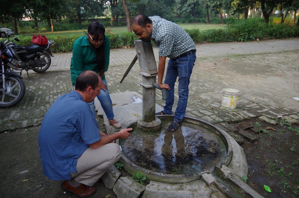 Screening well water quality in India