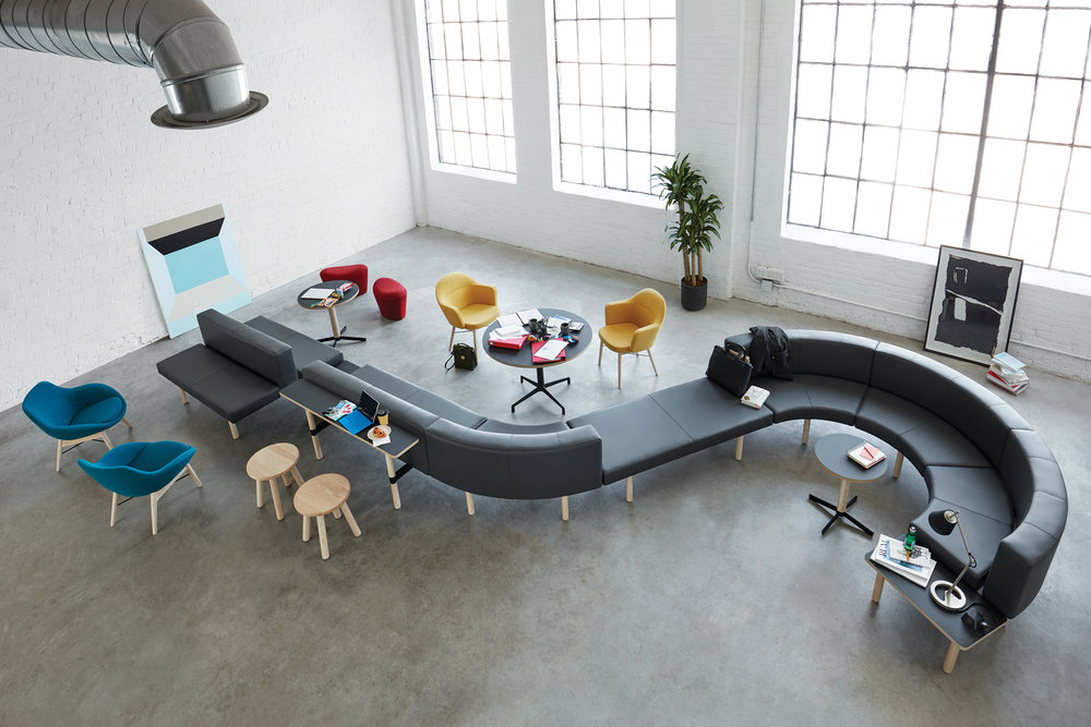 Keilhauer   Furniture to support people while they are engaging with others