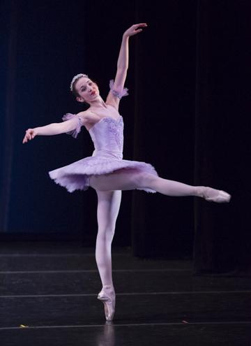 Sleeping Beauty Variation   photo credit - Blaine Truitt Covert  dancer - Lauren Kness