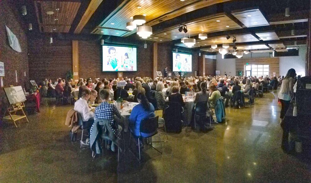 A Family Place celebrated their 5-year-anniversary by thanking the donors who help keep families in Yamhill County safe. 300 people filled the Ballroom, enjoying a delicious lunch from Bon Appétit and listening to inspiring stories of the incredible work A Family Place does.