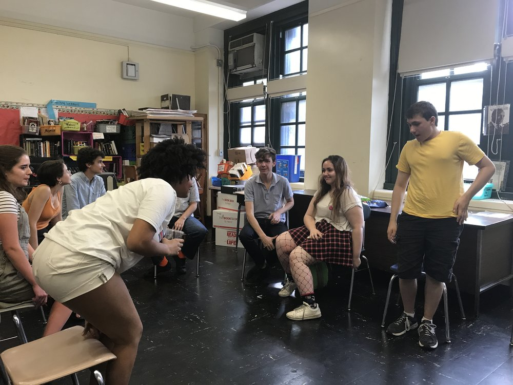 Teens debated over what they thought were the most pressing issues to integrate into the YPPG policy agenda for the upcoming school year.