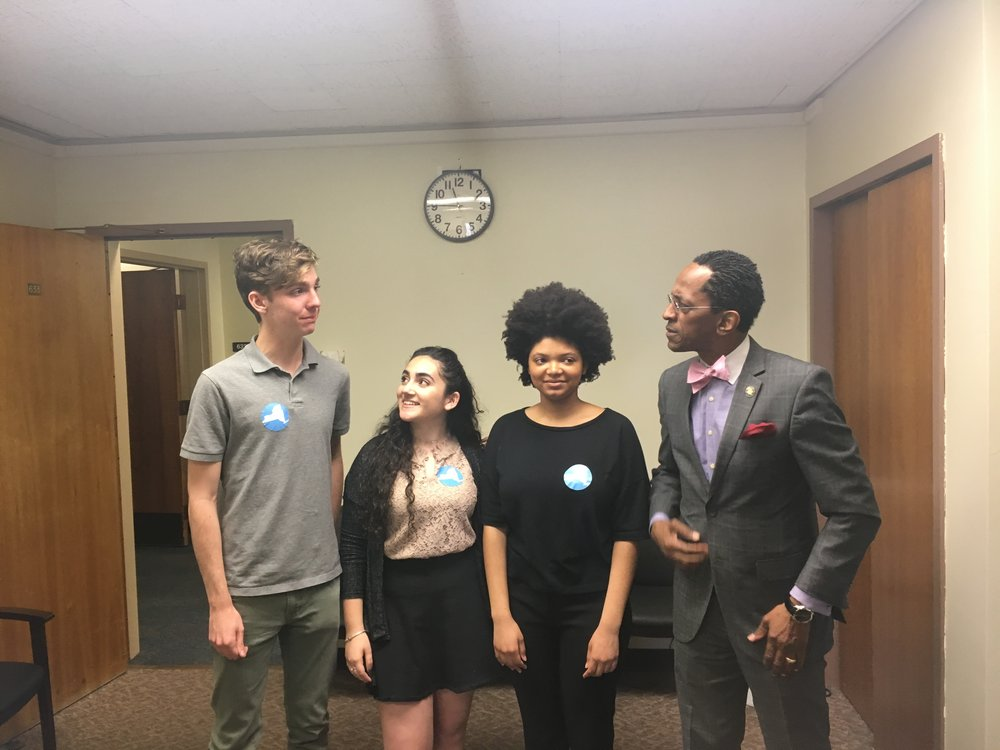 YPPG members meet with Assemblymember Taylor