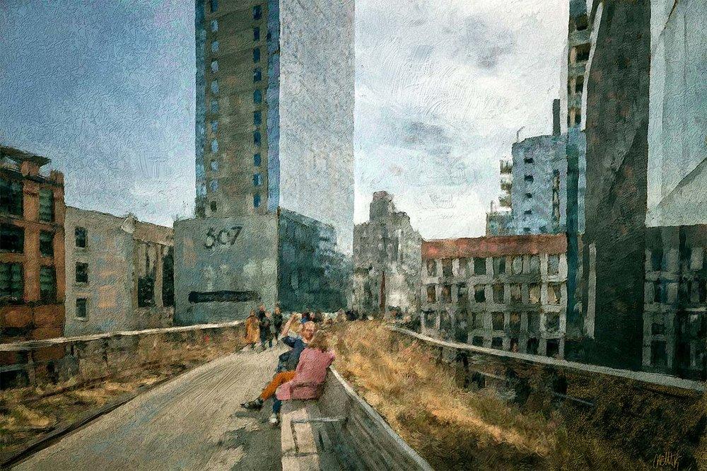 High Line •  Artist: Michael Cetta
