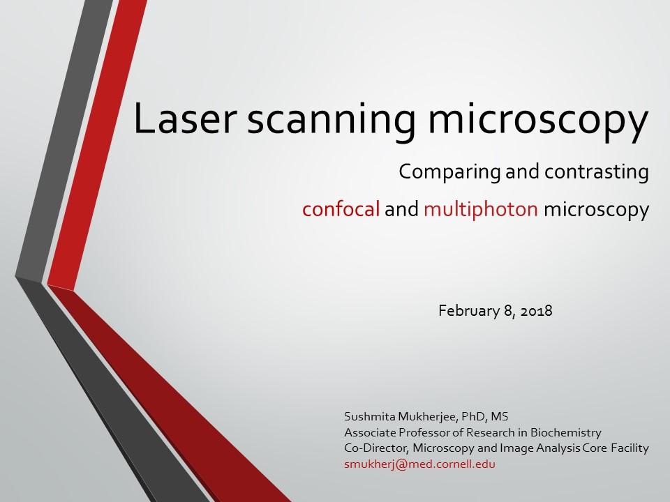 Seminar on February 8, 2018