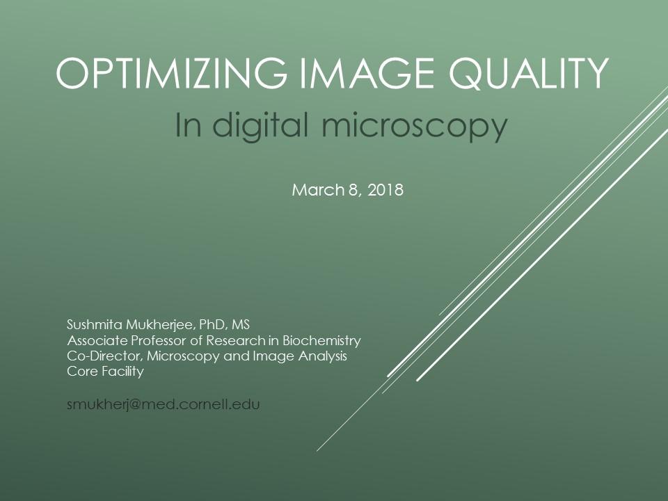 Seminar on March 8, 2018