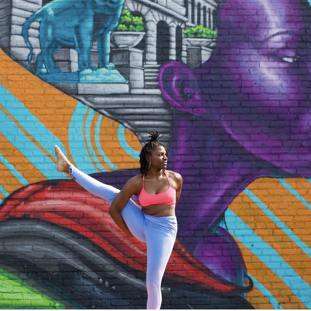 @mkjyoga    Mia K. Jones, is a Chicago Power & Vinyasa yoga teacher who places emphasis on evolution through physical challenge. She has been practicing yoga since 2015 and completed her 200hr certification through Core Power Yoga in the spring of 2017. Since then Mia's teaching style has been influenced by many different styles of yoga and other teachers. Her classes allow you to have fun while challenging yourself, and with her music you may even stop to dance. This combination helps a create mind and body awareness and allows yogis to step away from their mat feeling empowered an refreshed.