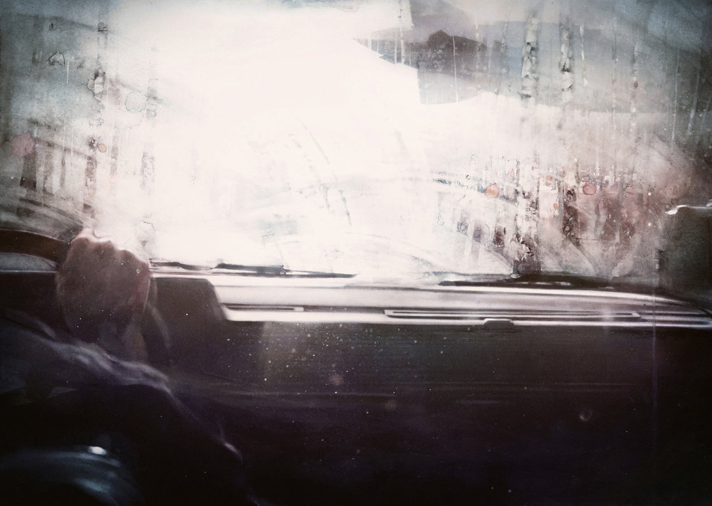 """Nubus"" watercolor 2015 Dima Rebus"