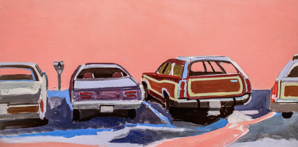 """Parking Lot"" by Jessica Brilli"