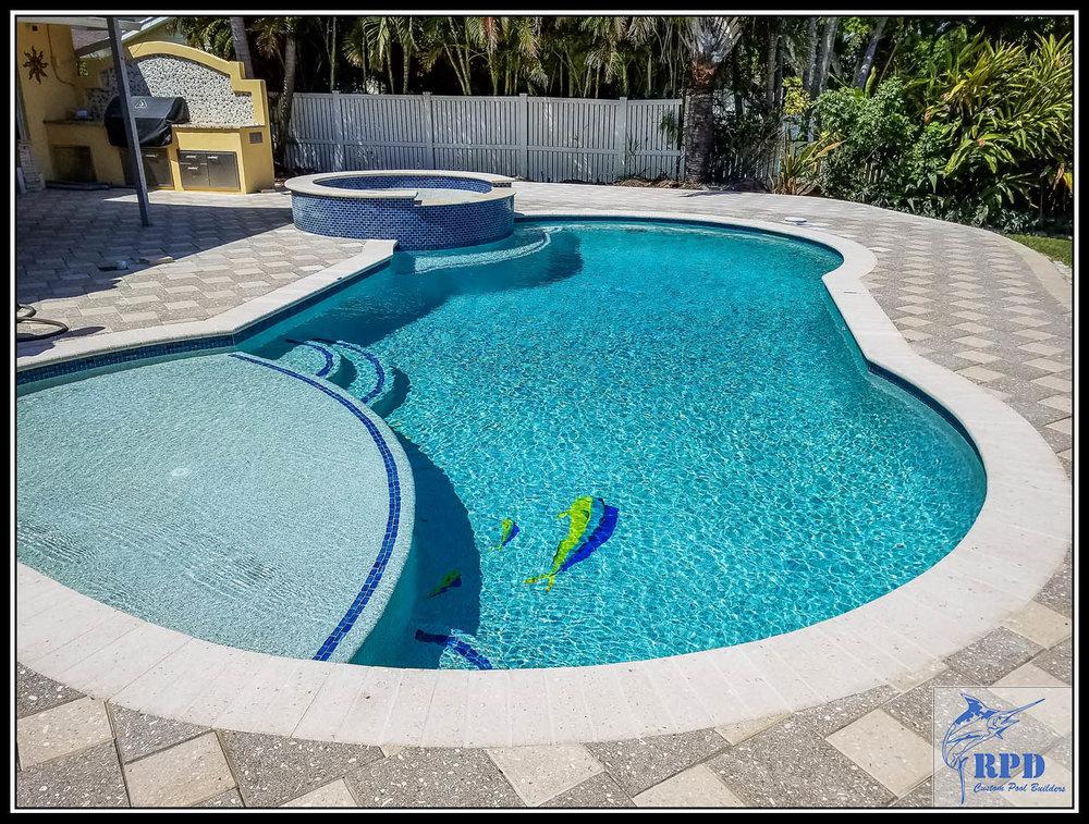 Roberts Pool Design | Swimming Pool Remodel | North Palm Beach