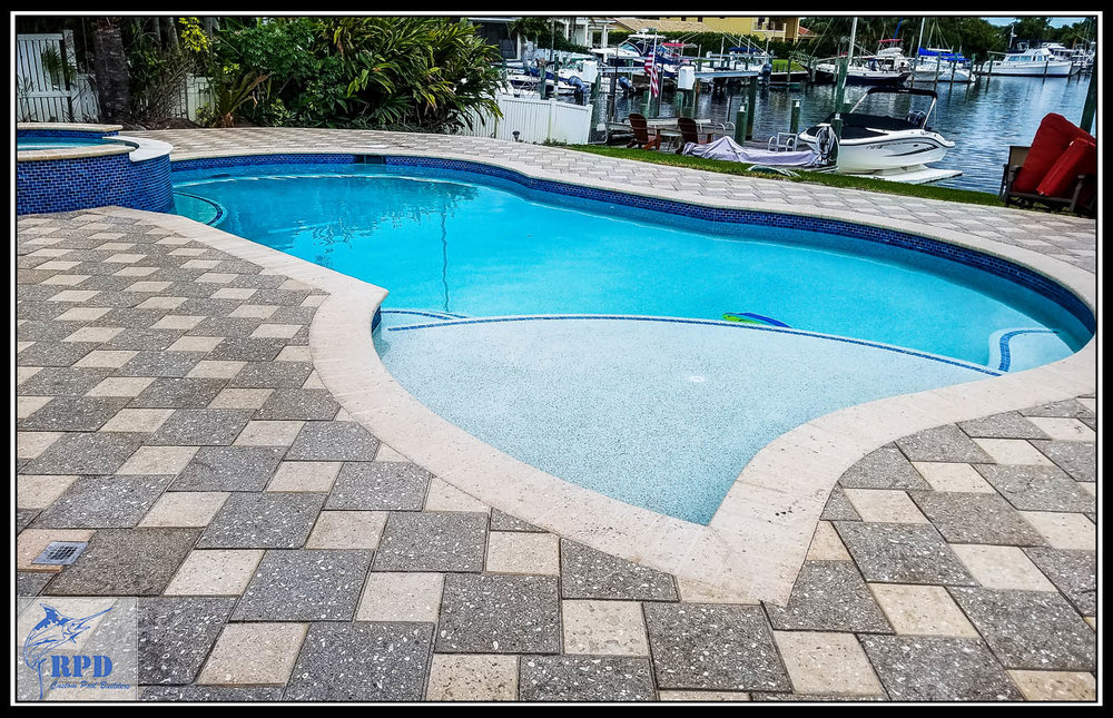 Roberts Pool Design | Swimming Pool Remodel | North Palm Beach