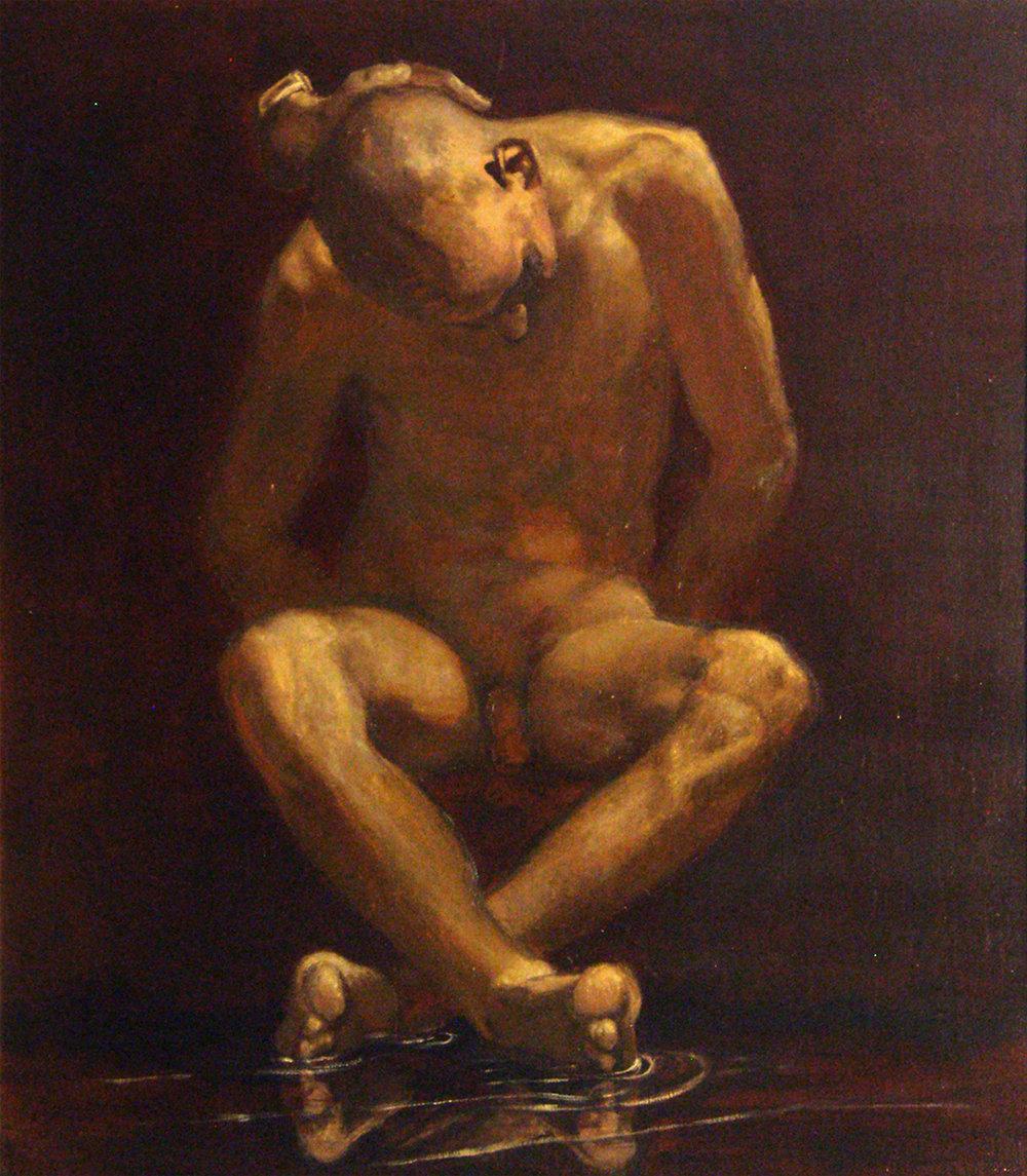Narcissos, 95x106cm, 2013