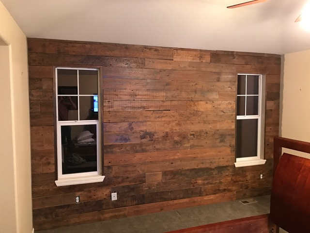 Brown Barn Wood Accent Wall Denver Timber Co