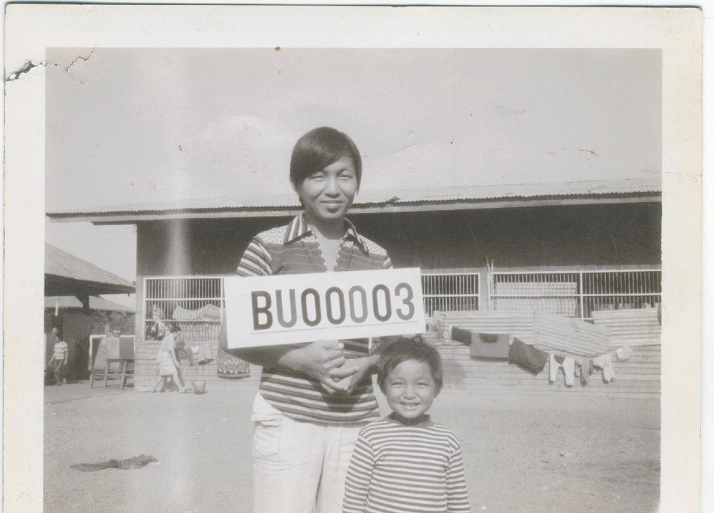Bunseng in Refugee Camp