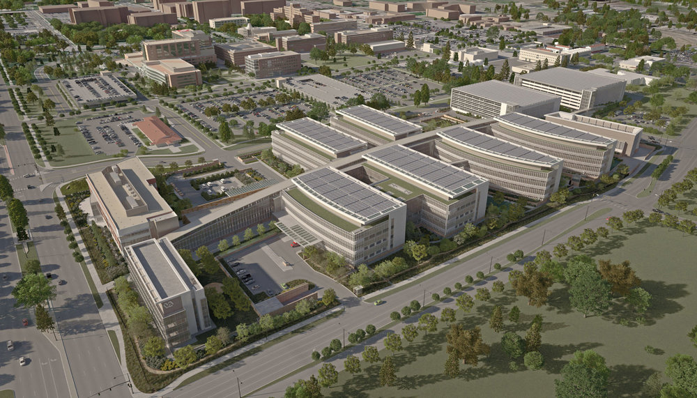 VETERANS AFFAIRS MEDICAL FACILITY IN DENVER, COLORADO  1.2m sq. ft / $1.7B  DENVER, COLORADO USA