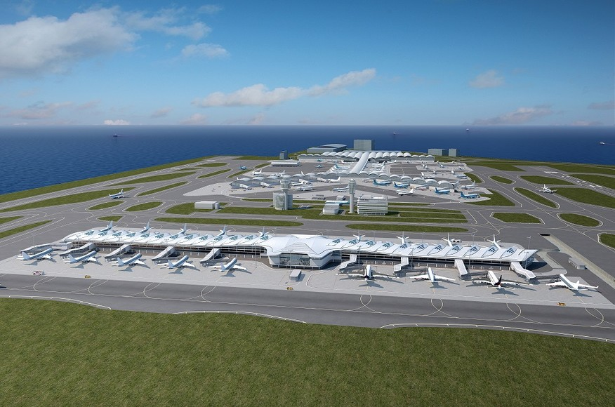 HONG KONG INTERNATIONAL AIRPORT MIDFIELD EXPANSION     HONG KONG, CHINA SAR