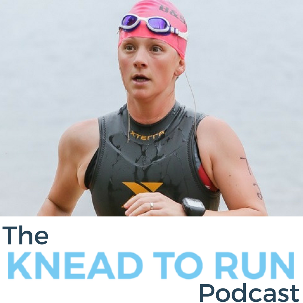 - To hear more from me, click on the image to listen to a recent interview on the Knead to Run Podcast!