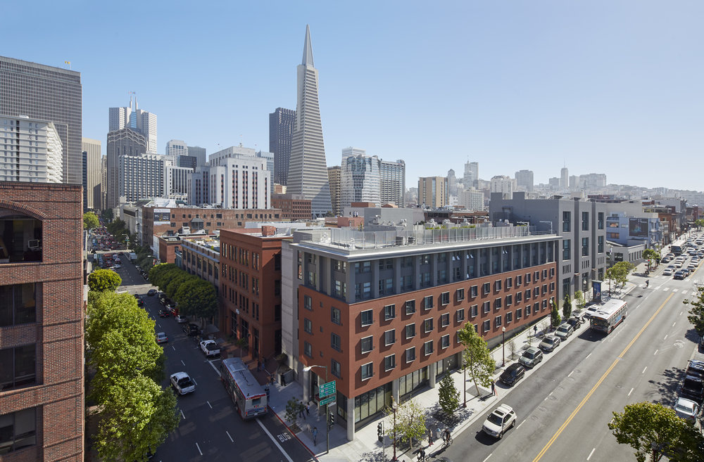 Sansome and Broadway Family Housing by Mithun. Photo ©  Bruce Damonte