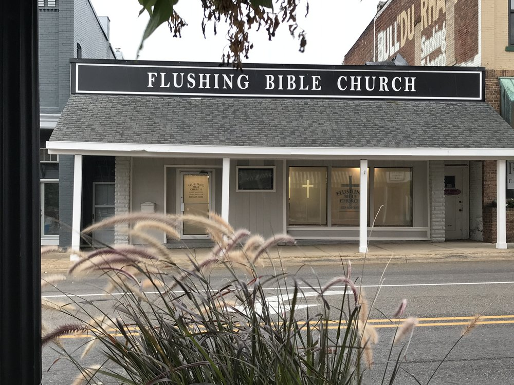 Flushing Bible Church  Saturday Air Time: 6am, 6pm  Pastor Kurt Obermeyer