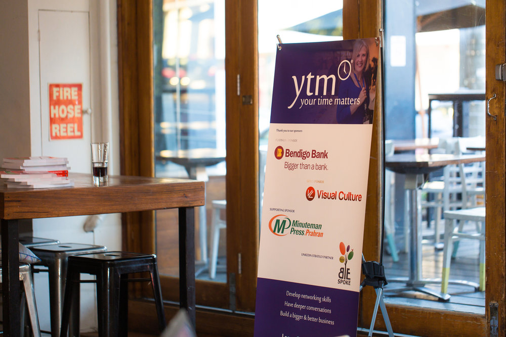 Find out more - To find out how your business or organisation can partner with YTM please contact Kerryn Powell , Founder and Creator of YTM:contact@yourtimematters.com.auor call 0414 856 616
