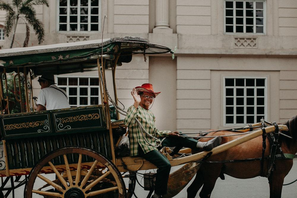 Carraige driver, Intramuros, Manila